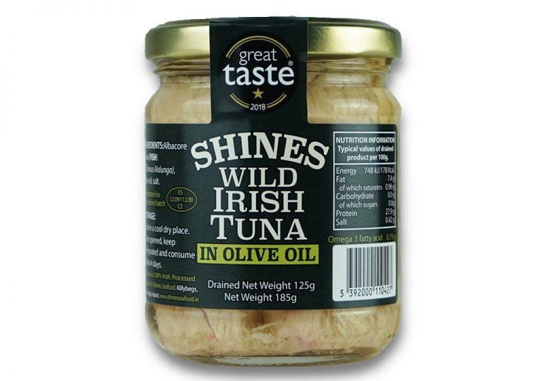 Shines Tuna Olive Oil Jar Product