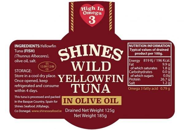 Tuna Yellowfin Jar Details