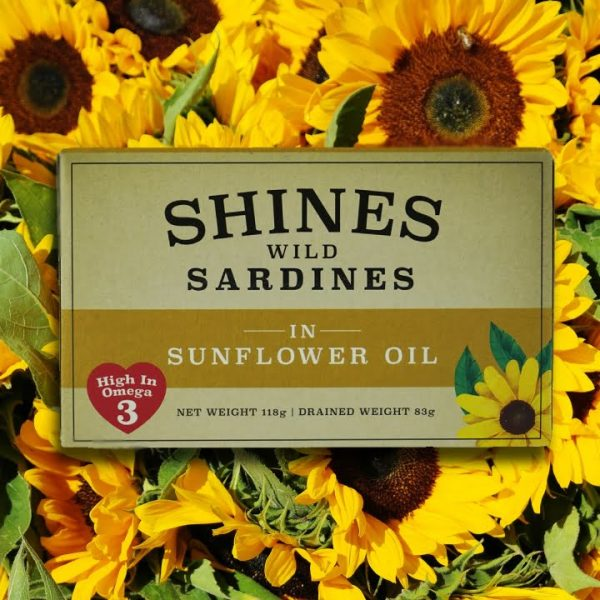 Shines Seafood Sardines in Sunflower Oil