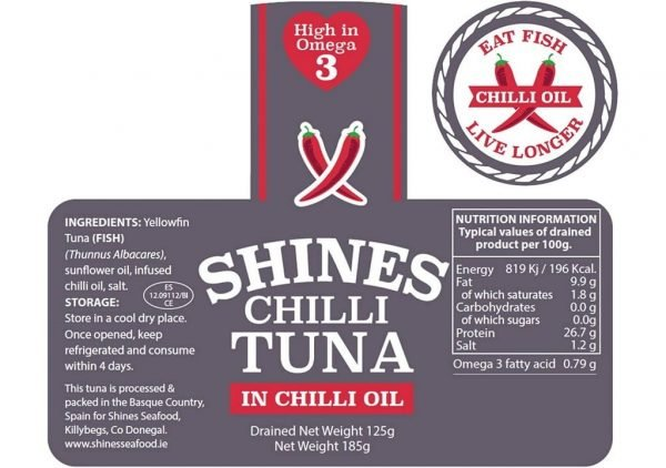 Shines Tuna Chilli Details
