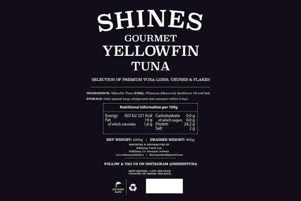 Yellowfin Tuna Ingredients
