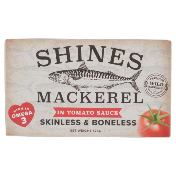 Shines Mackerel in Tomato Sauce